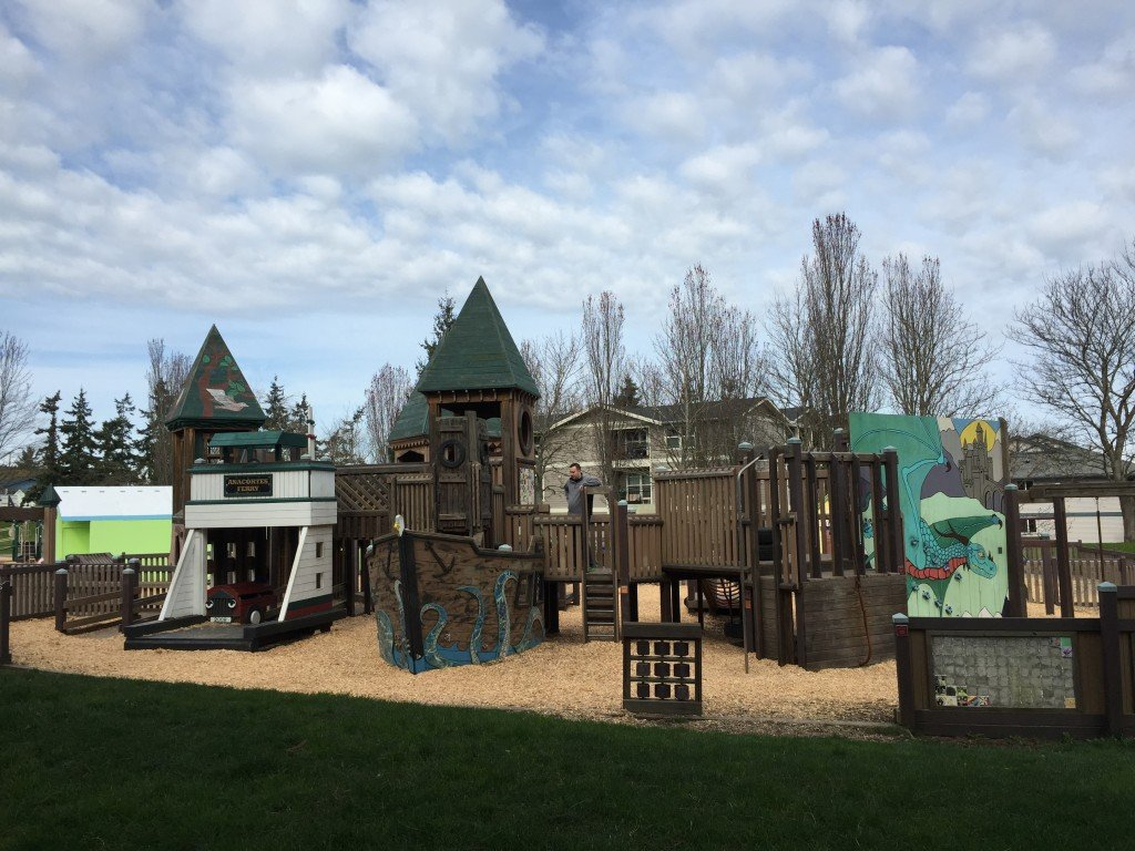 "John Storvik Playground, Anacortes WA ""AKA"" the ""Pirate Playground"" according to 4-year old Mattias"