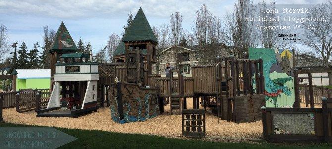 John Storvik Municipal Playground, Anacortes WA