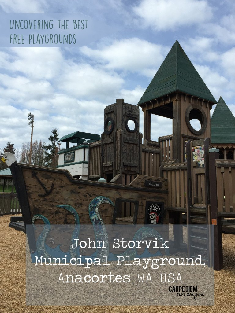 John Storvik Playground Anacortes WA review by Carpe Diem Our Way Family Travel Blog