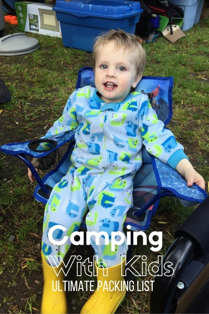 Camping with Kids Ultimate Packing List for your next family camping trip