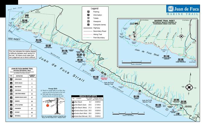 Juan-de-fuca-trail-map