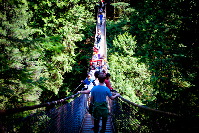 Lynn Canyon Suspension Bridge Photo by GoToVan