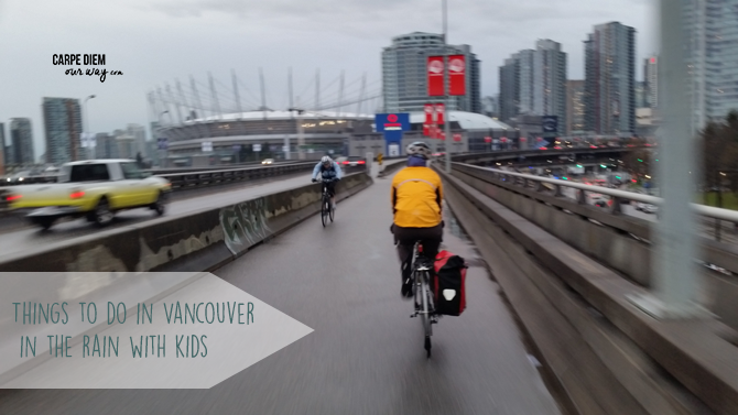 What to do in vancouver in the rain with kids