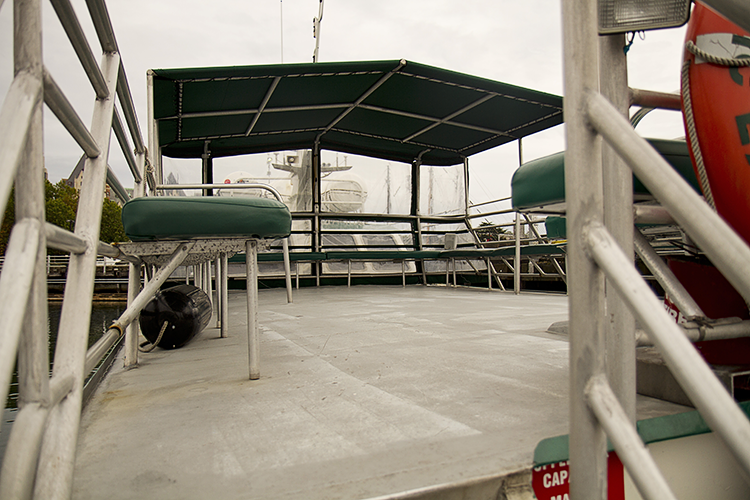 The Top Deck of the Pacific Explorer I