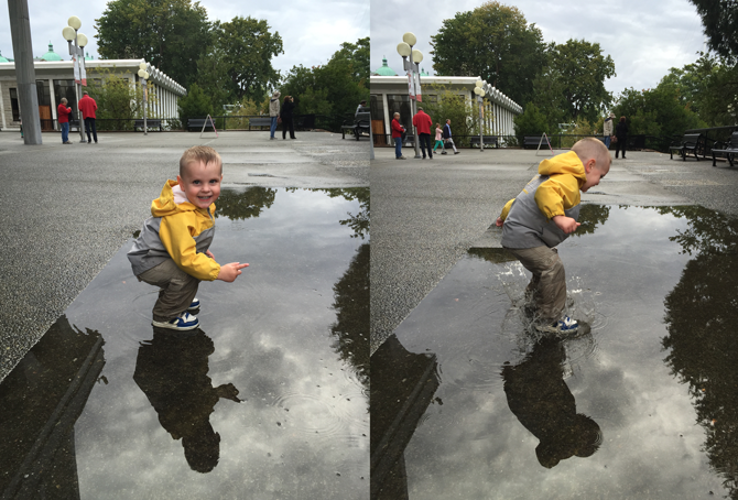 Happy to be Puddle Jumping in Victoria!