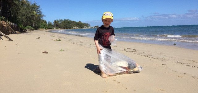 Garbage Pickup on Oahu Shores: An Introduction to Worldschooling