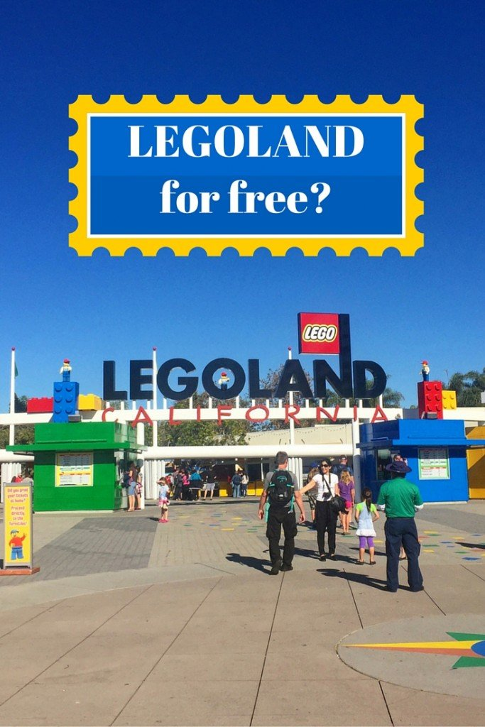 How to get into Legoland for Free!