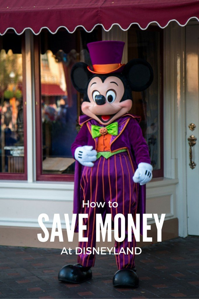 !0 tips to Save Money at Disneyland www.carpediemourway.com