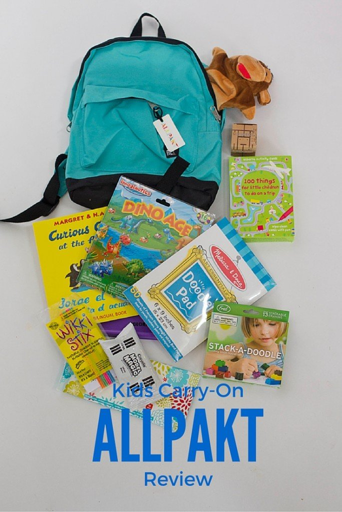 AllPakt Carry-on For Kids! Take the Stress out of Packing