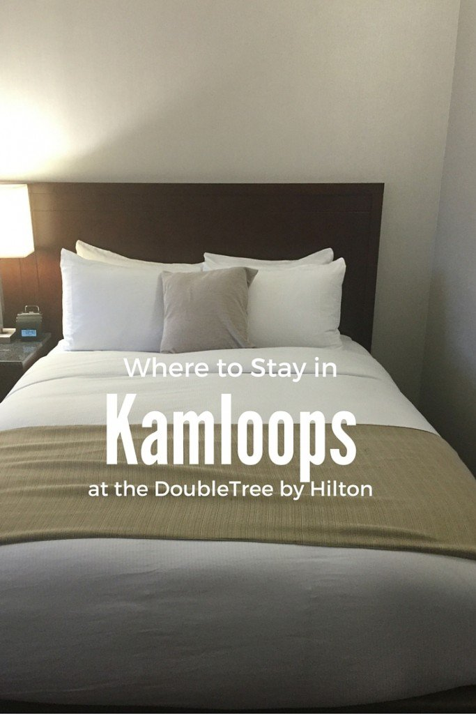 the Doubletree Kamloops in Beautiful British Columbia is an ideal place for your next getaway!