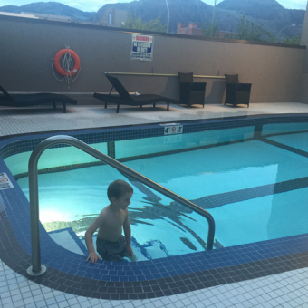 an-Evening-swim-dubletree-by-hilton-kamloops