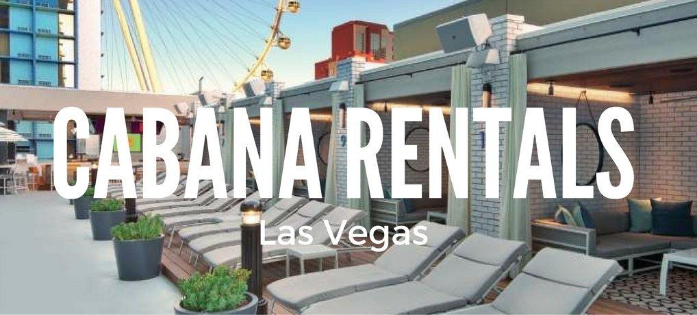 Cabana Rentals Las Vegas