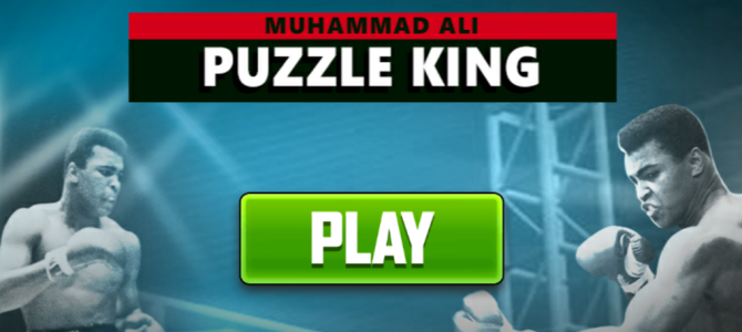 Boredom Busters: Muhammad Ali Puzzle King