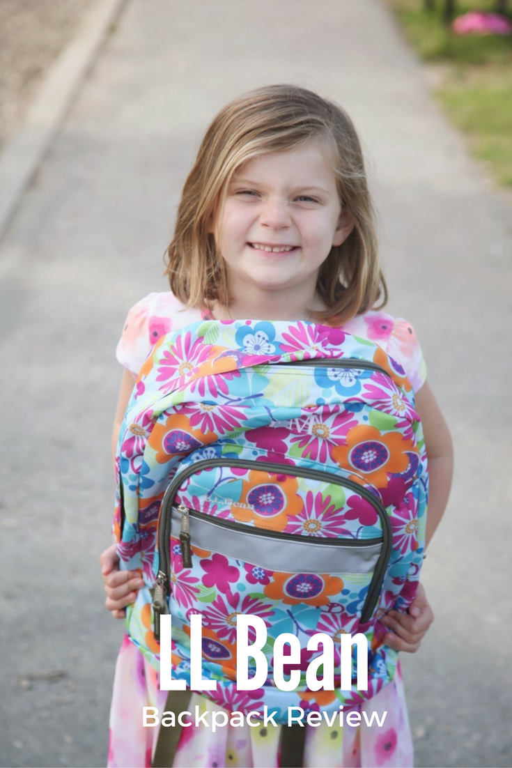 LL Bean Backpack Review: Whether it is Kindergarten of your next vacation, LL Bean is a great option