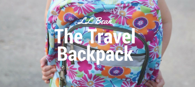 LL Bean – The Travelling Backpack