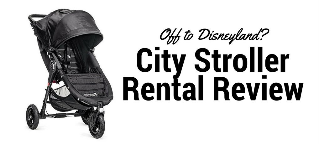 City Stroller Rental Review