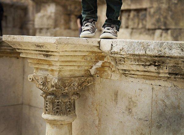Amman Roman Theatre Carvings