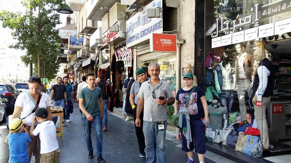 Walking through Amman