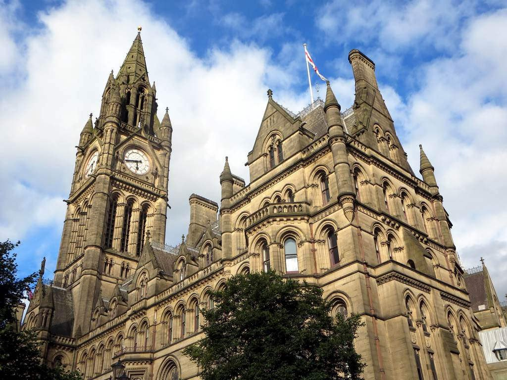 Manchester United Kingdom - Town Hall