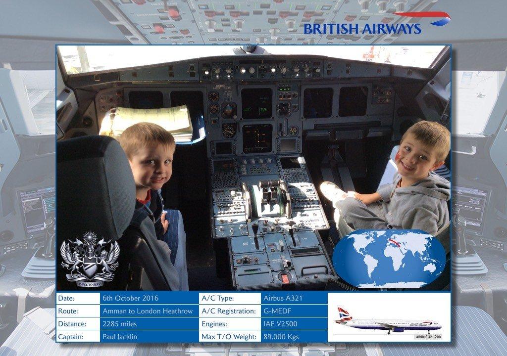 Carpe Diem OUR Way Aboard British Airways