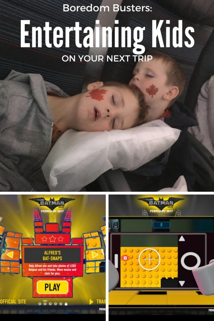 ENTERTAINING KIDS on your next flight! New games for your phone and more