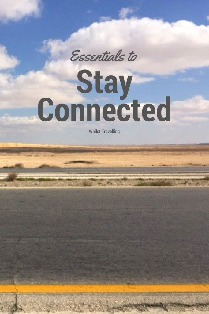 Essentials to Stay Connected Whilst Travelling