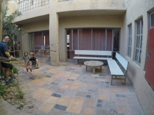 One of the Central Courtyards at Feynan EcoLodge