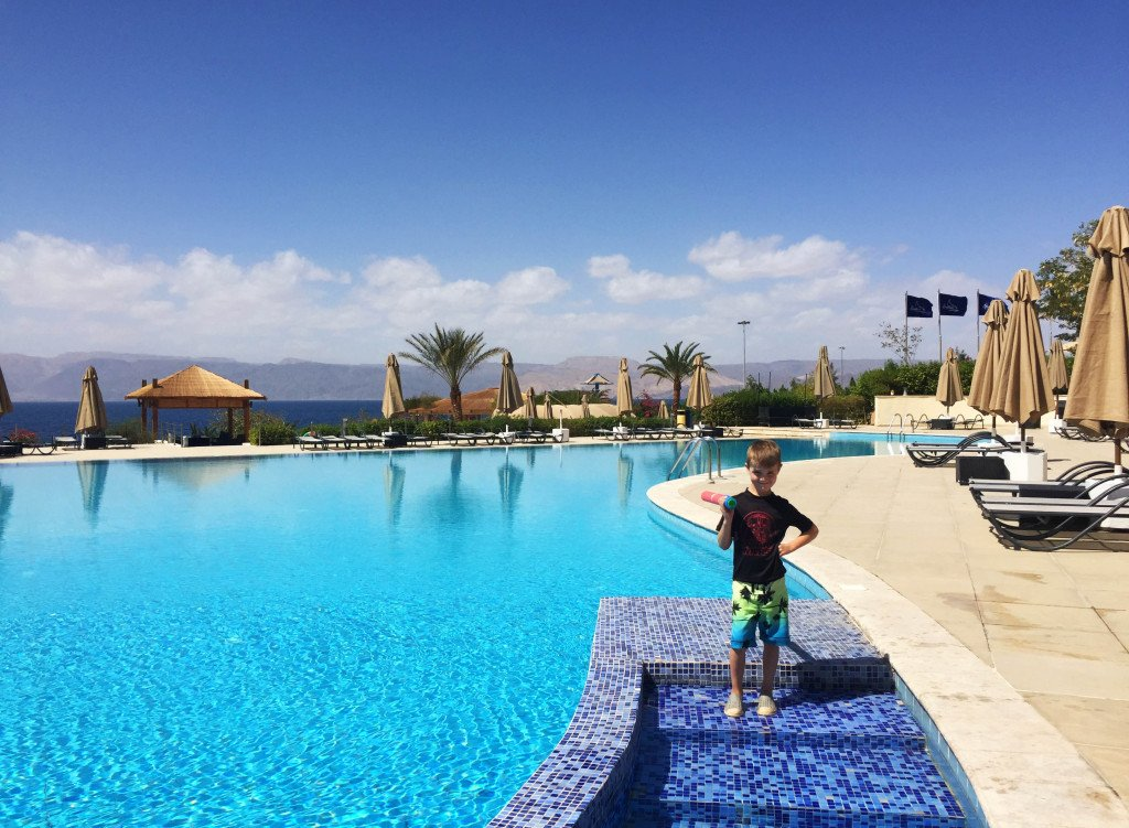 Berenice Beach Club in Aqaba, Jordan