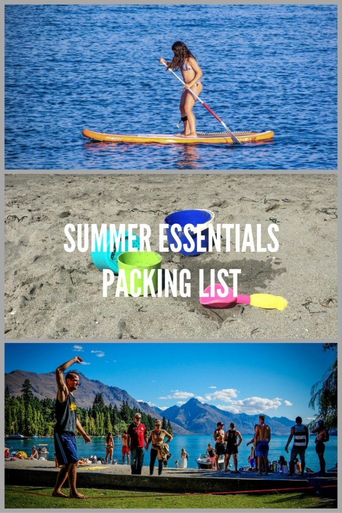 Summer Must-Haves for the Beach, Camping, BBQ and Family Fun