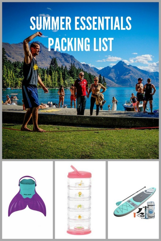 Summer Must-Haves for the Park, BBQ, Camping, the Lake, the Beach and Family Vacations