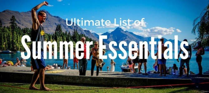 10 Summer Essentials for Families