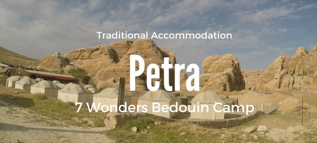 Camping in Petra 7 Wonders Bedoiun Camp in Jordan