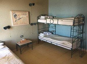 Original Guest House Room: Originally a science station