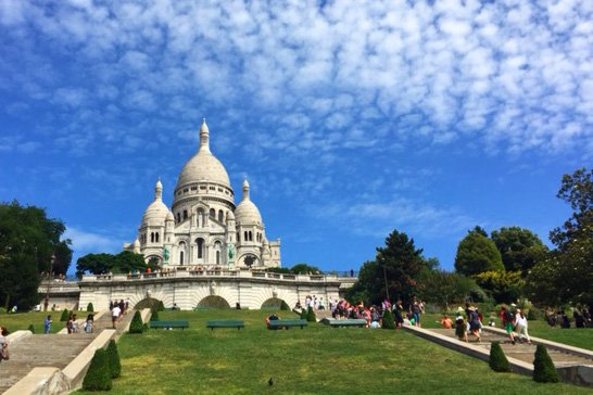 Carpe Diem OUR Way Lindsay Nieminen Sacre Coeur Paris Family Travel