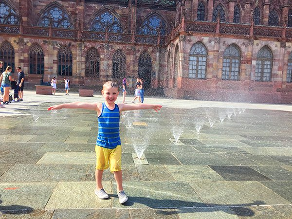 Cooling off in Strasbourg