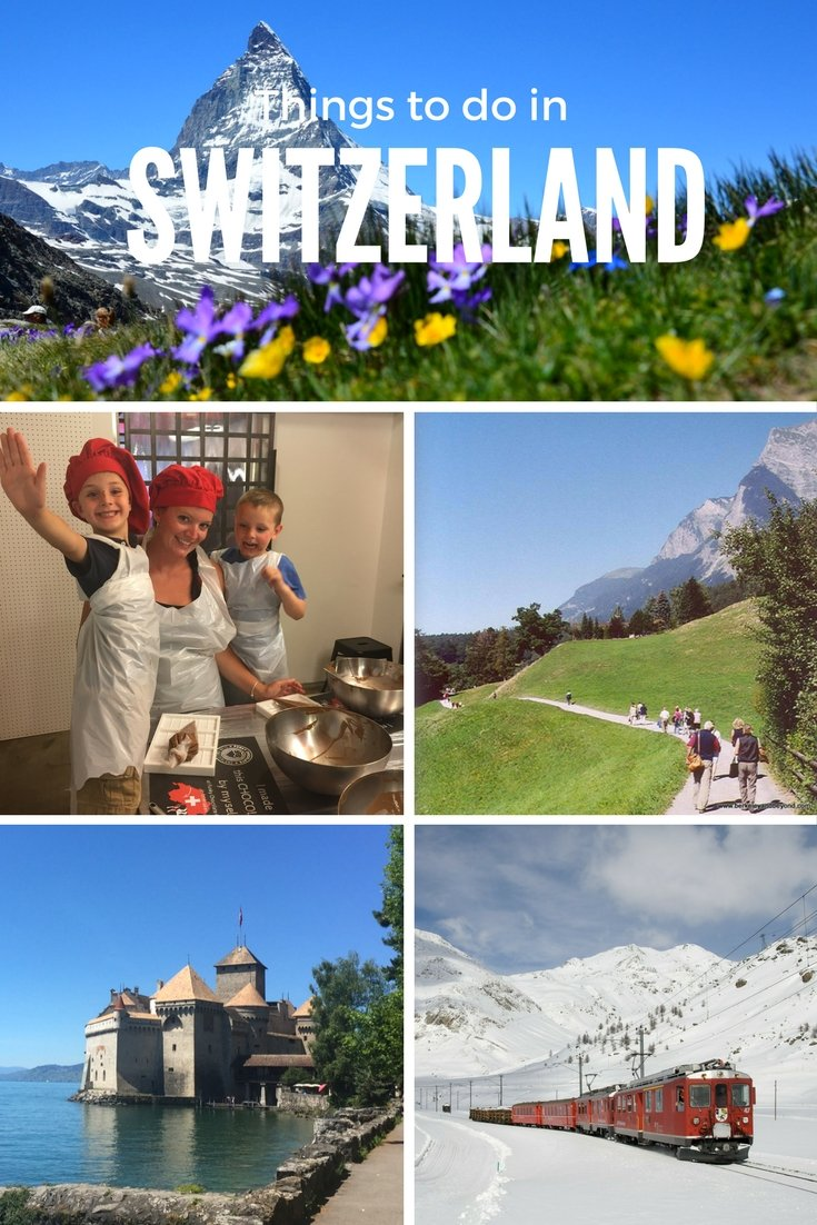 Things to do in Switzerland #visitswitzerland