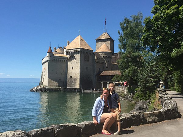Chateau de Chillon -Geneva to Montreux Daytrips with kids