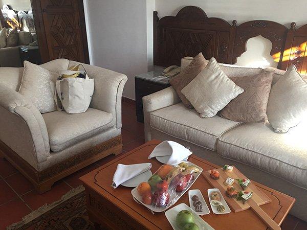 Sitting Area in Junior Suite's adjacent room