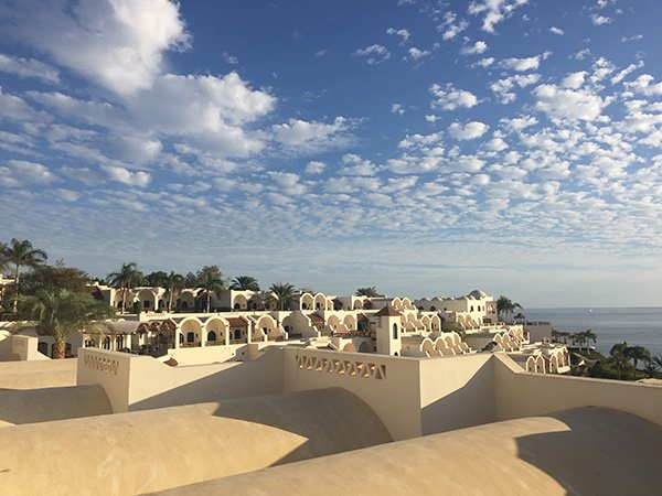 Our Room's View at Movenpick Sharm el Sheikh