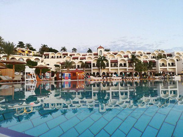 The Pool and the Rooms