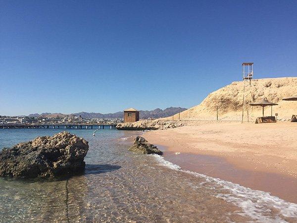 One of the Beaches at Movenpick Naama Bay