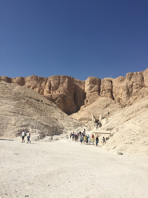 What does the Valley of the Kings look like?