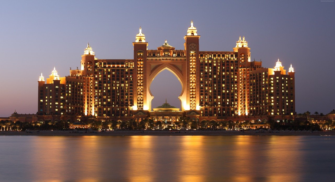 Hotels for Families in Dubai include Atlantis
