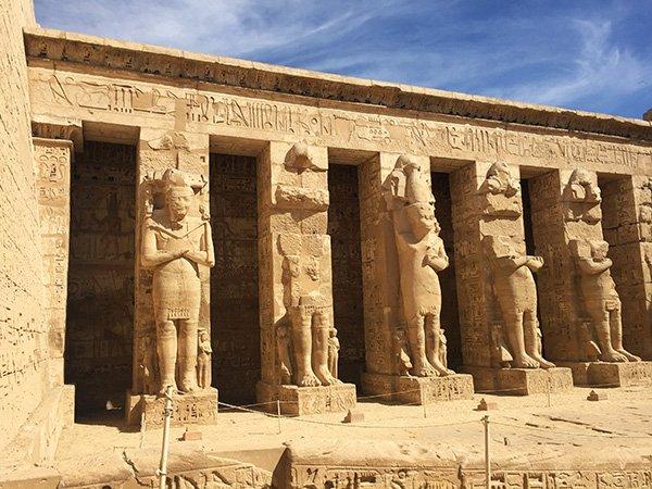 Visiting Egypt Luxor burial temple of hatshepsut