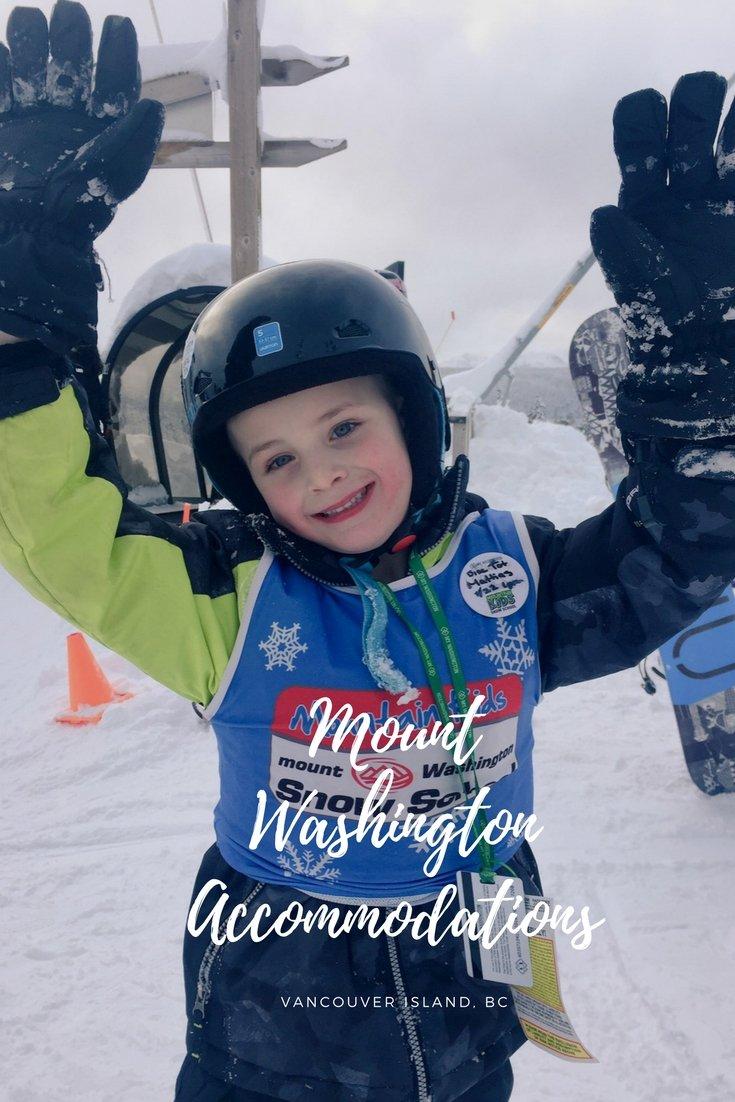 Mount Washington Accomodations on Vancouver Island for Skiing