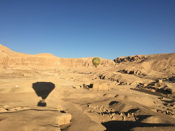 Luxor Egypt Attractions Hot Air Ballooning over Hatshepsut Temple