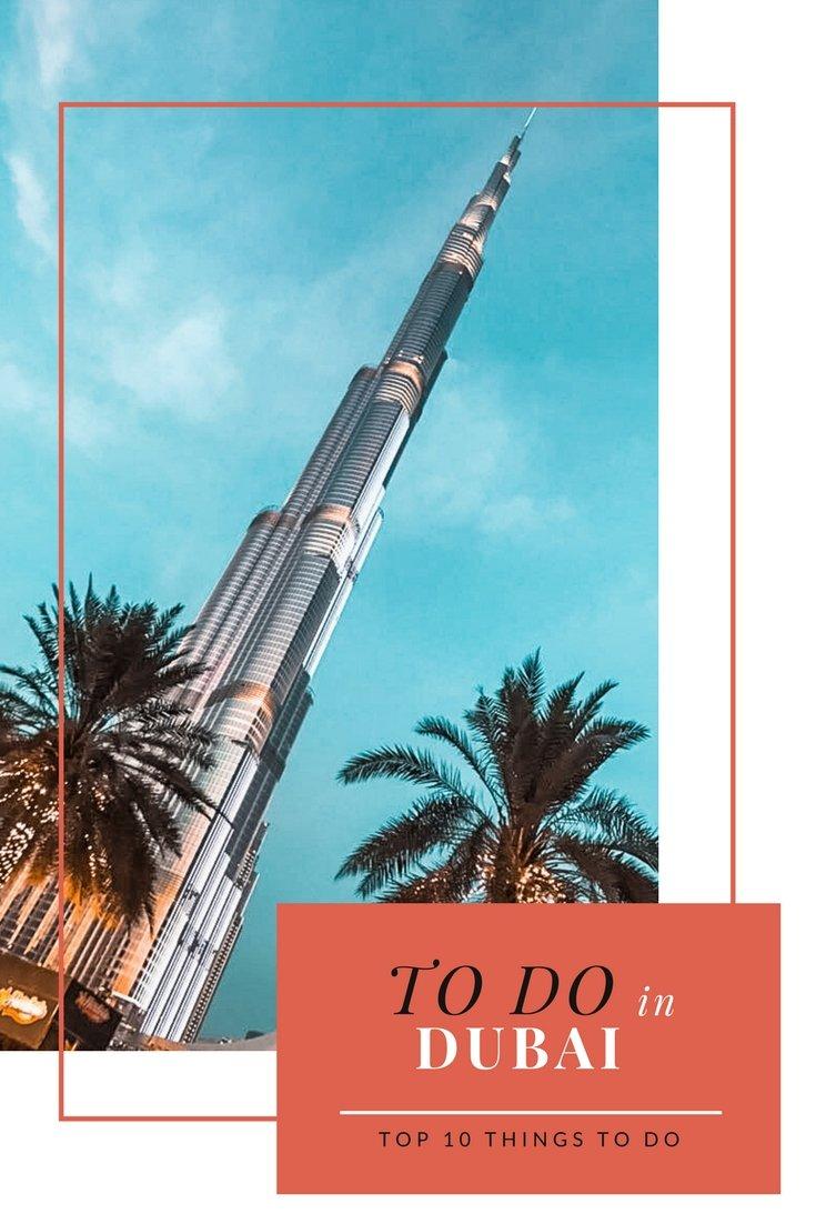 Top 10 Fun Things to do in Dubai | Top Dubai Attractions | Burj Khalifa | #Dubai