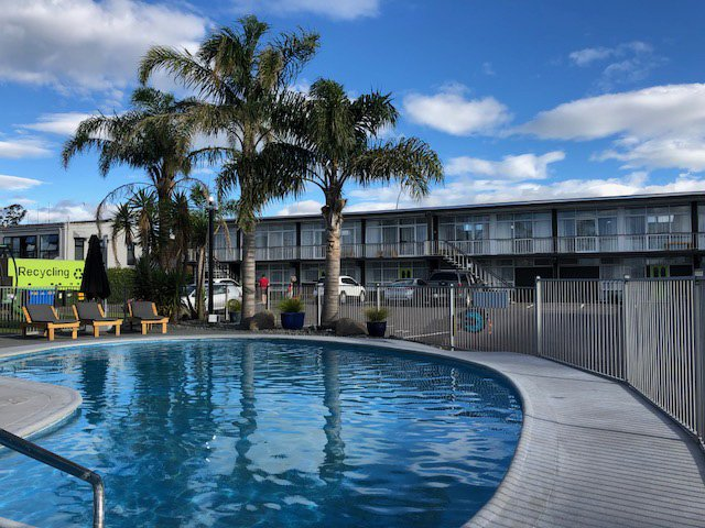 Aura Accommodation Geothermal Heated Pool