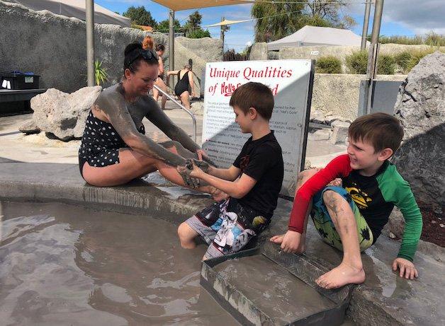 Hells Gate Geothermal Spa | Mud Bath | Rotorua Things to do | Geothermal Wonders | #NZMUSTDO | #rotorua