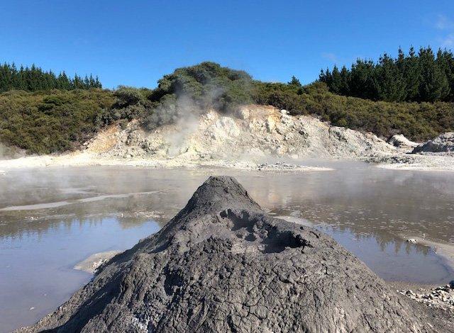 Mud Volcano, Rotorua NEW ZEALAND | #volcano #mudspa #rotorua #nzmustdo
